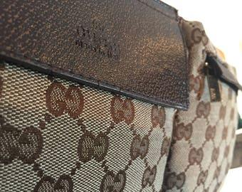 Vintage Gucci Fanny pack / Hip pack (broken buckle)