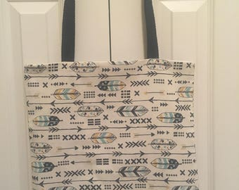 Tote Bag - Feathers & Arrows