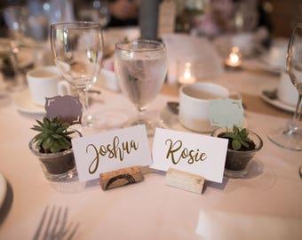 Printable Wedding Place Name Cards 51-100