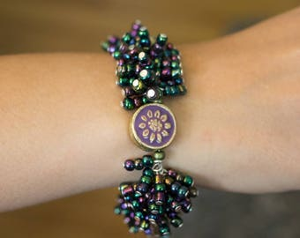 Purple Party Bracelet