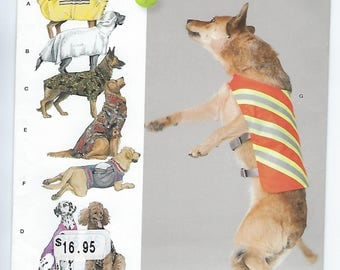 Simplicity 1578 - Large Size Dog Clothes