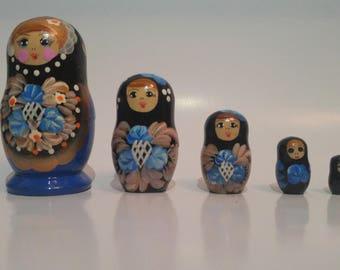 Russian nesting doll from Armenia (Matreshka)(babushka)