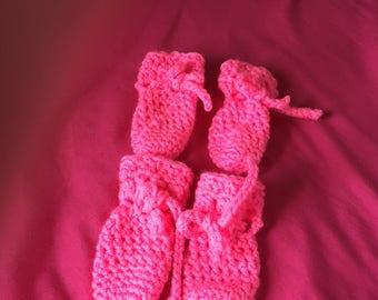 Crochet Dog Booties
