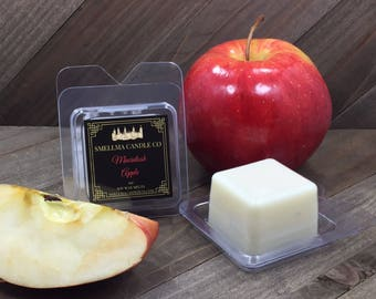 Macintosh Apple Soy Wax Melts, Wax Melts, Soy Wax Melts, Soy Wax Tart, Soy Candle Melts, Wax Warmer, Wax Cubes Scented Soy Tart Sample