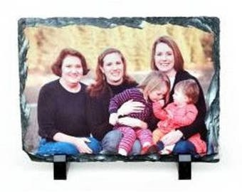 Block picture slate Sublimation to customize with your Photo picture frame memory