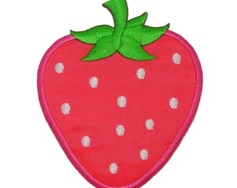 Pink Strawberry Fruit Patch W.Ch.Patch