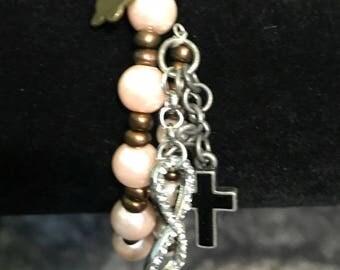 Forever Faithful Handmade Bracelet