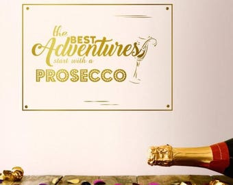 Prosecco Wall Sticker
