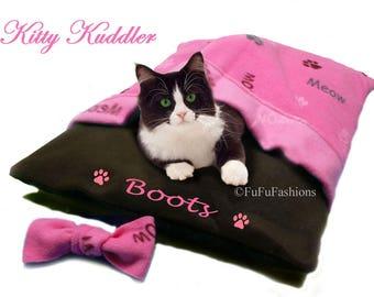 Kuddler - Pink Kitty Meow