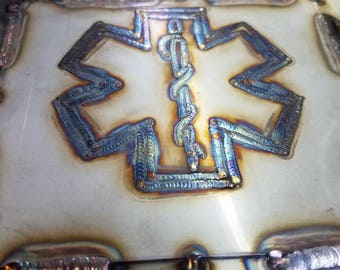 Star of life tig weld art