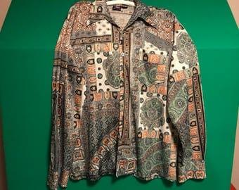 True 70's Disco Polyester Shirt by Joel