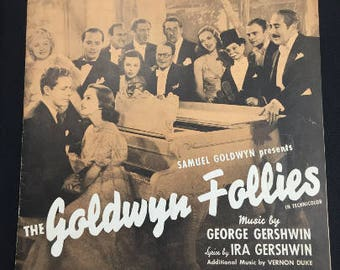 Love Walked In vintage sheet music