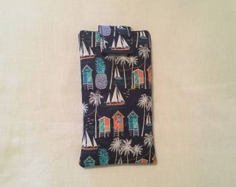 I Phone Padded Fabric Carry Case