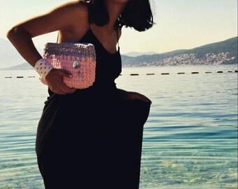Clutch handmade handbag
