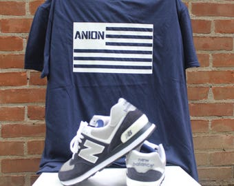 Official Anion Music Space Boy Flag T Shirt