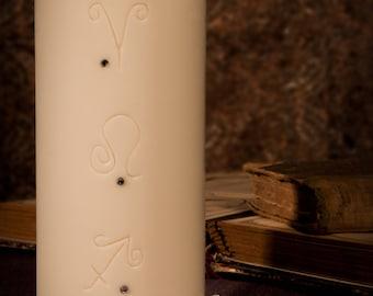 Handmade soybean candle Aries, Leo, Sagittarius