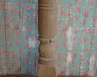 Vintage Porch Post * cut * spindle * candlestick * farmhouse * decor * wood * architectural salvage