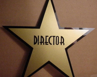 Personalized Dressing Room Star