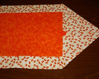 Fall or Halloween Table Runner