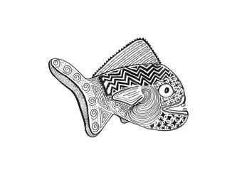 Fish Print 4