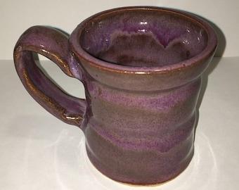 Thrown Mug with Hand-made Handle 02