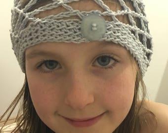 Crocheted Girls beanie