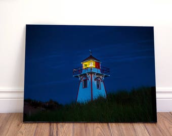 Lighthouse wall art canvas