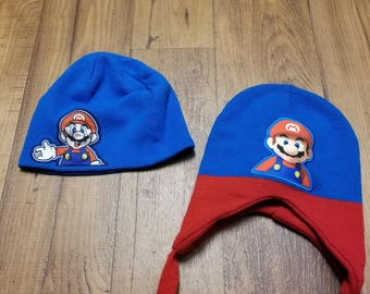 2 Super Mario Brothers Beanies