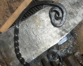 Iron Letter C- Hand Forged