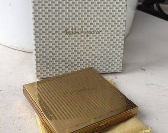 Vintage Gold Tone VOLUPTE Compact