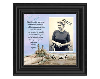 Her Smile, Remembrance of Mother, In Memory Gifts, 10x10 6756