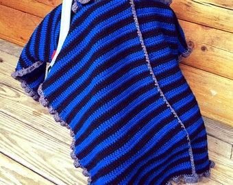 Crochet Car seat Canopy Cover Handmade