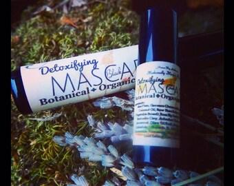 Sale! Sample Mascara/Purse Size Organic Mascara/100% Chemical Free/Detoxify Your Eyes/Healing Mascara/Moisturizing While Pulling out toxins!