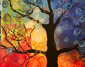 Colorful Seasons Painting