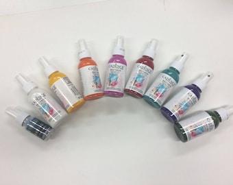 TEXTILE CADENCE Spray paint