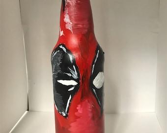 Deadpool Painted Bottle