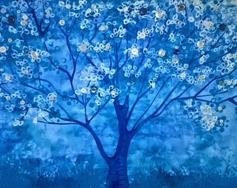 blue button tree