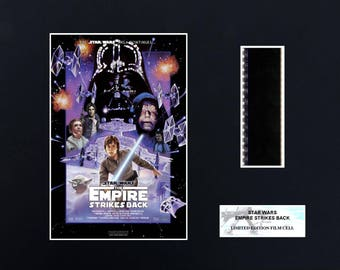 Star Wars Empire Strikes Back 8 x 10 Filmcell
