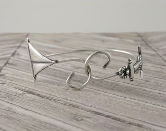 Anchor and Sailboat Bracelet