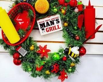 Men's Grill Wreath