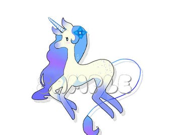Unicorn Glossy Sticker