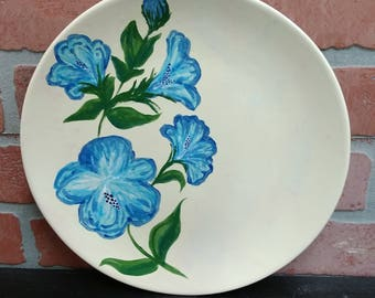 Morning Glory Plate