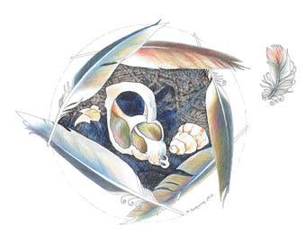 Sea Nest - Original Hand Drawn Art