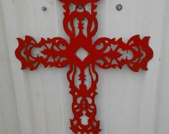 Metal Cross- Memorials
