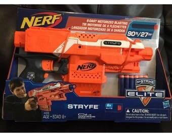 Nerf Stryfe with Neo Rhino motors lipo mod
