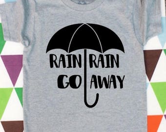 Rain Rain Go Away Kids' Graphic Tee