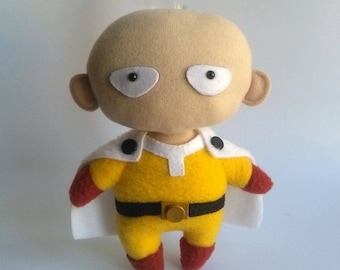 SPECIAL OFFER Saitama One Punch Man chibi doll
