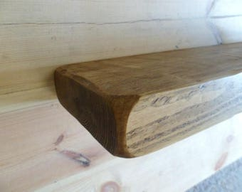 Floating reclaimed Shelf Solid special Tanny