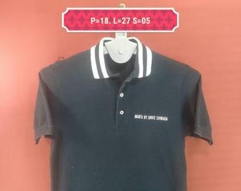 Vintage Maxfli by Junko Shimada Shirt Black Colour Size M Made in Japan Comme des Garcons Shirts Yohji Yamamoto Shirts Issey Miyake