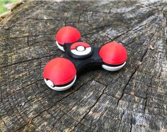 Pokeball Fidget Spinner   Fidget Toy   Hand Spinner   EDC Toy   Desk Toy   Stress Toy   Fidget Spinners   Pokemon Go   Pokemon Birthday